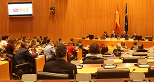 Jornada en el Parlamento