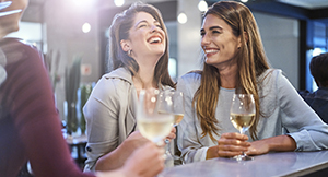 Consumo de vino blanco