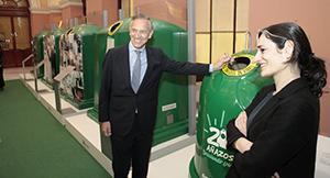 Exposición de Ecovidrio