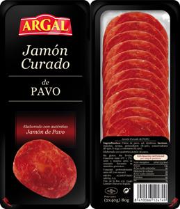 Jamón de pavo de Argal
