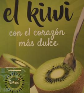 Nuevo kiwi orgánico