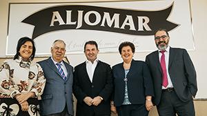 Berasategui con la familia Aljomar