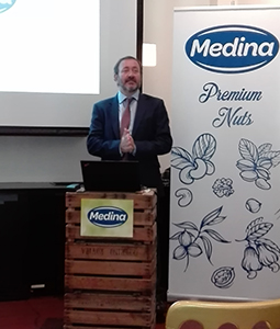 Antonio Ramírez, presidente de Aperitivos Medina