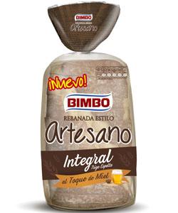 Bimbo Rebanada Estilo Artesano Integral