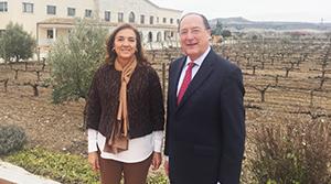 Carmen Vela y Carlos Moro