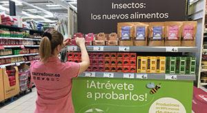 Nuevos alimentos a base de insectos