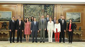 Audiencia con el Rey Felipe