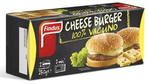 Cheese Burguer de Findus