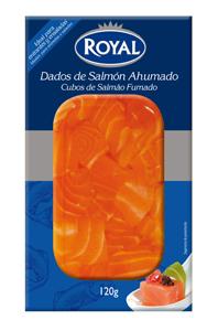 Dados salmón