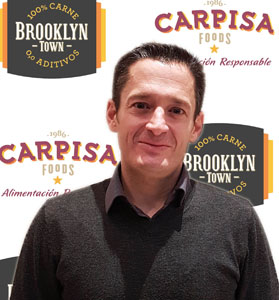 Diego Rodríguez, de Carpisa Food