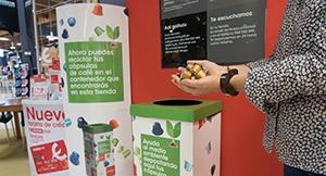 Nuevo proyecto de reciclaje de cápsulas
