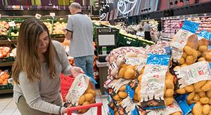 Eroski comercializa patata de Álava