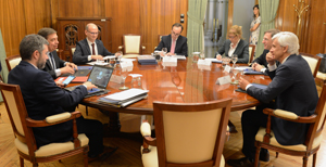Reunión entre el ministro y la Fiab