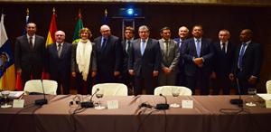 Reunión de los ministros con el sector