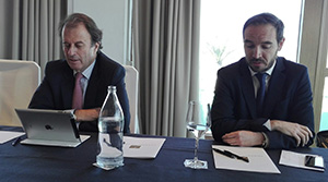 Ignacio Osborne y Pablo López