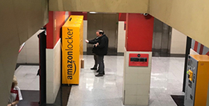 Taquillas de Amazon locker