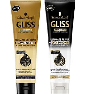Nuevos aceites de Gliss