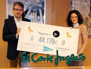 José Carnero y Ester Uriol
