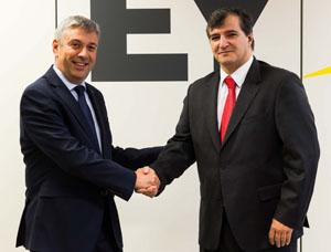 Luis Perelli y Mané Calvo