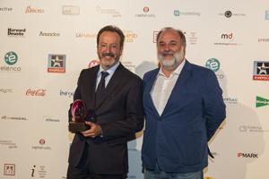 De izquierda a derecha: Jaime Lobera, responsable de Marketing y Ventas de Campofrío Food Group y Jesús Martínez Soria, Director de Cuentas de McCAN.