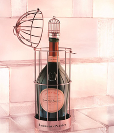 Laurent-Perrier Rosé en una bella jaula