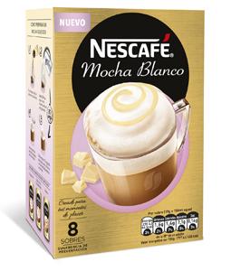 Nescadé Mocha Blanco