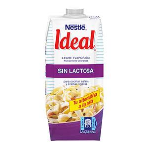 Ideal sin lactosa