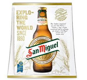Nuevo packaging de San Miguel