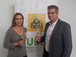 Presidenta y Vicepresidente de la DO Rueda