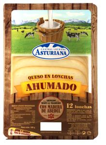 Queso Loncheado Ahumado de Central Lechera Asturiana