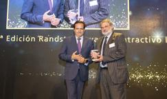 •Juan Pablo Lázaro, presidente de la Confederación Empresarial de Madrid (CEIM); y Luis Miguel García, director de Recursos Humanos de Nestlé España.