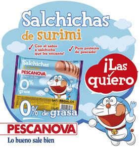 Salchichas de Pescanova