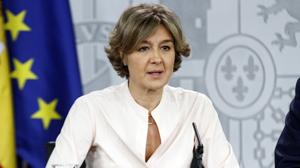 Tejerina en rueda de prensa tras el consejo de ministros