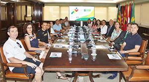 Reunión organizadores