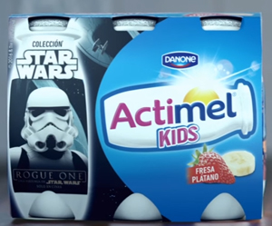 Actimel Star Wars