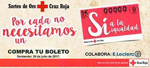 Boleto de Cruz Roja