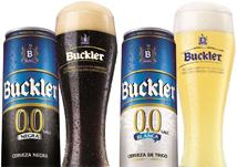Buckler 0,0 negra y rubia
