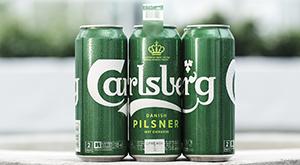 Nuevo packaging de Carlsberg