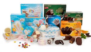 Carrefour helados