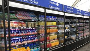 Supermercado Pop-Up Carrefour