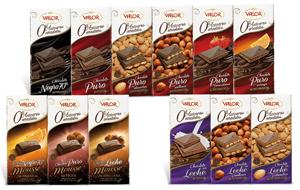 Chocolates Valor sin azúcar