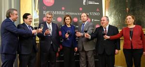 Cospedal en la II Cumbre Internacional del Vino