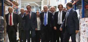 Artur Mas inaugura la plataforma de Condis