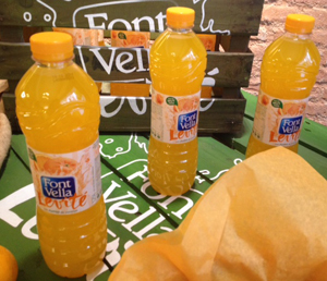 Font Vella Levité de naranja