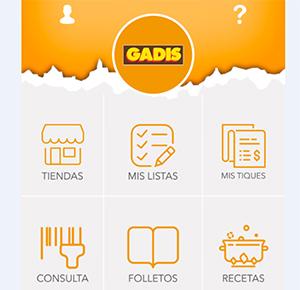 Nueva app de Gadis