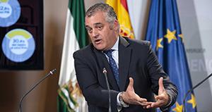 Javier Carnero, consejero de Empleo de la Junta de Andalucía
