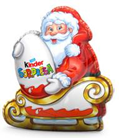 Papá Noel con sorpresa