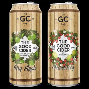 Nuevas latas de The Good Cider