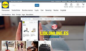 Nueva tienda online de Lidl