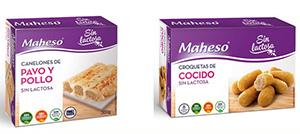Nueva gama sin lactosa de Maheso